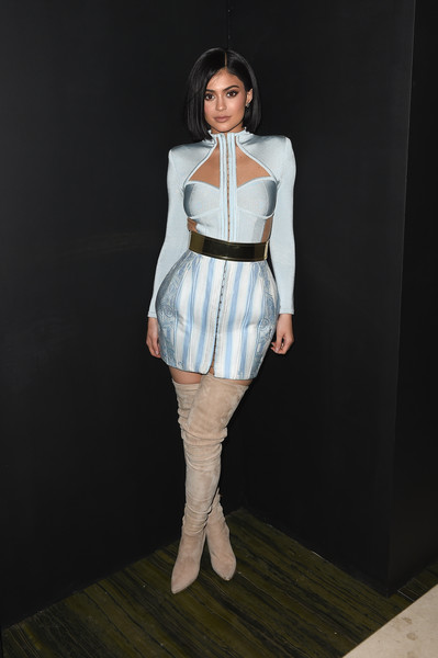 Looking Fierce In A Balmain Ensemble At A 2016 Met Gala After-Party