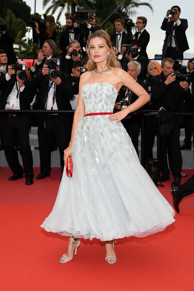 Petra Nemcova In Georges Chakra Couture