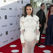 Kim Kardashian in Givenchy Couture at Fashion Los Angeles Awards