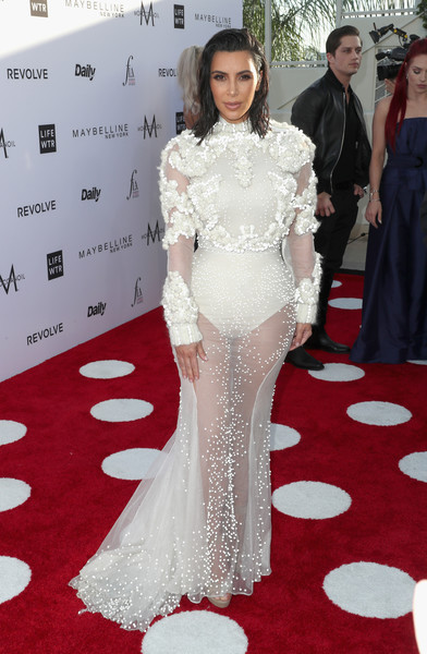 Kim Kardashian in Givenchy Couture at the Daily Front Row's Fashion Show