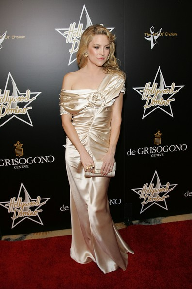 Kate Wearing Champagne Satin In Hollywood, 2008
