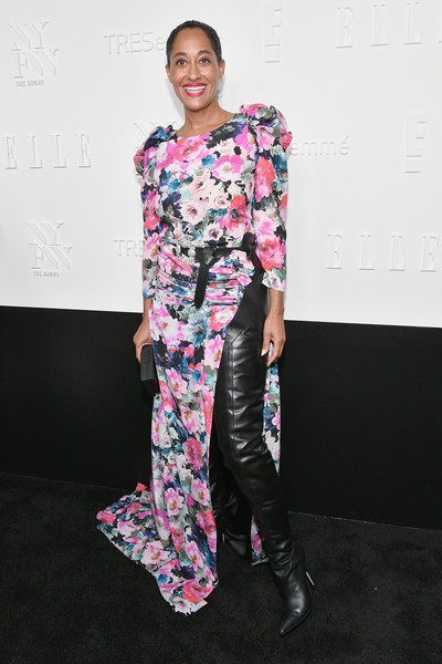 Tracee Ellis Ross in Ronald von der Kemp Couture at the Mothership Ball