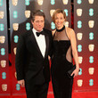 Hugh Grant and Anna Eberstein