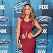 Pia Toscano at the American Idol Finale