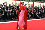Claire Foy walks the red carpet ahead of the opening ceremony and the 'First Man' screening during the 75th Venice Film Festival at Sala Grande on August 29, 2018 in Venice, Italy.