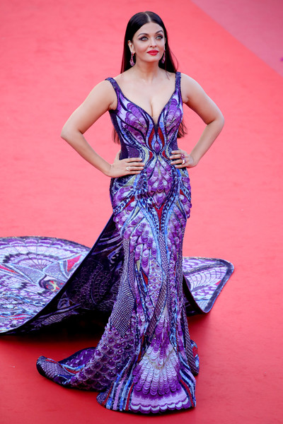 Aishwarya Rai In Michael Cinco Couture At The Cannes Film Festival