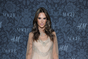 Alessandra Ambrosio's Fishtail Dress