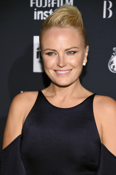 Malin Akerman's Pompadour at the Harper's Bazaar Celebration