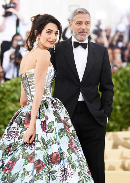 George Clooney And Amal Clooney