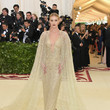 Rosie Huntington-Whiteley In Ralph Lauren Collection At The Met Gala