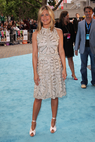 In Valentino At The 'Horrible Bosses' London Premiere