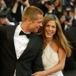 2000: Jennifer Aniston and Brad Pitt