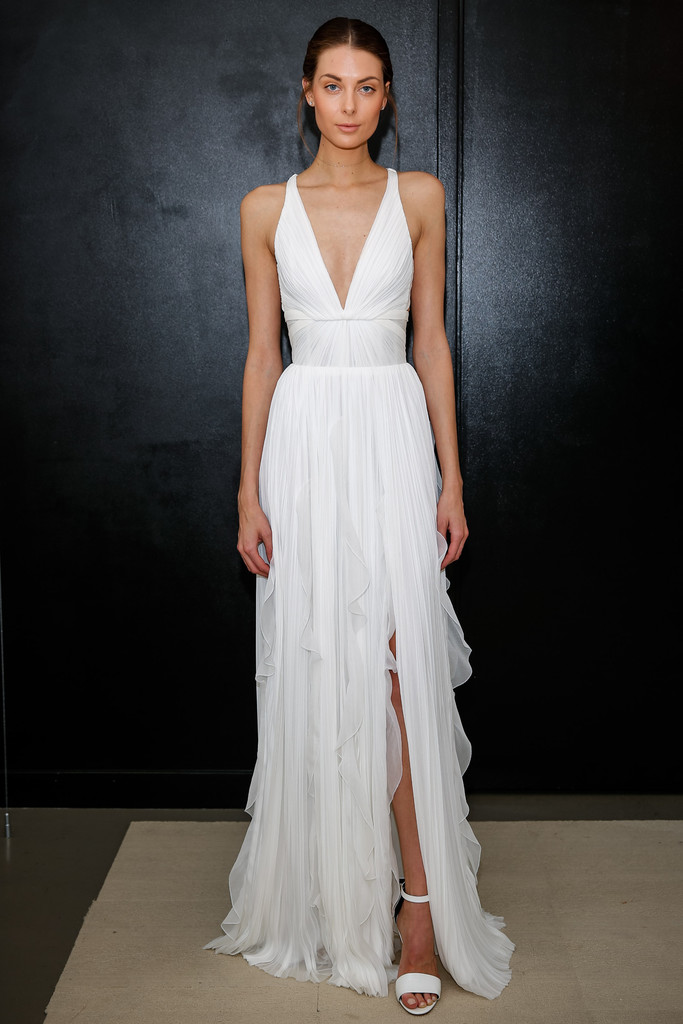 The Most Stylish Wedding Dresses : Mendel bridal the most gorgeous gowns from fashion week