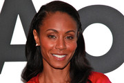 Actress Jada Pinkett-Smith visits the AOL Studios In New York on June 14, 2011 in New York City.
