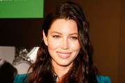 Jessica Biel launches a new Revlon commercial at Walgreen's Times Square on May 23, 2011 in New York City.