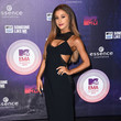Rocking A Cristiano Burani Cutout Gown At The 2014 MTV EMAs In Scotland
