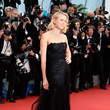 Naomi Watts in Black Tulle and Lace