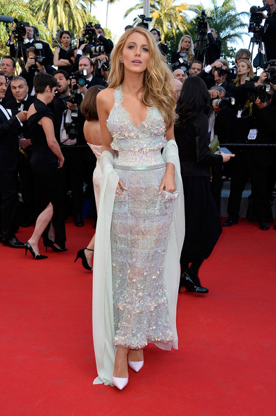 Blake Lively in Chanel Couture at the 2014 Cannes Film Festival