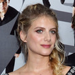 Melanie Laurent's Triple-Braided Crown