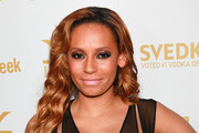 Recording artist Melanie Brown attends the OK! Magazine and BritWeek Oscars party at The London West Hollywood on February 25, 2011 in West Hollywood, California.