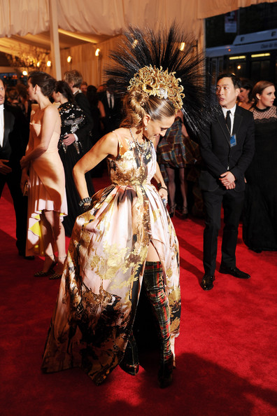 Sarah Jessica Parker in Giles at the 2013 Met Gala