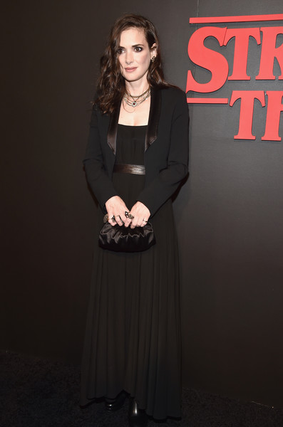 Winona Ryder At The 'Stranger Things' Netflix Premiere