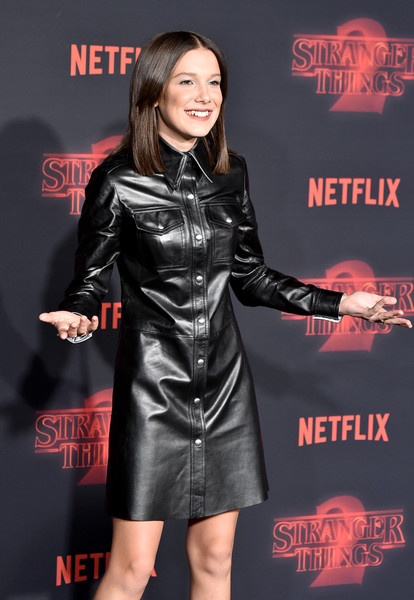 Millie Bobby Brown At The 'Stranger Things 2' Netflix Premiere