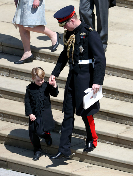 Prince George Wore Pants To The Royal Wedding