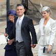 Robbie Williams, Ayda Field And Gwen Field