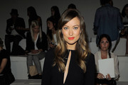 Actress Olivia Wilde attends the Ralph Lauren Spring 2012 fashion show during Mercedes-Benz Fashion Week at Skylight Studio on September 15, 2011 in New York City.