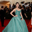 Liu Wen in Zac Posen, 2014