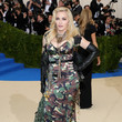 Moschino Corseted Camo At The 2017 Met Gala