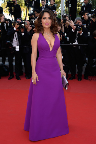 Every Gorgeous Gown From The 2017 Cannes Film Festival Salma Hayek In Gucci