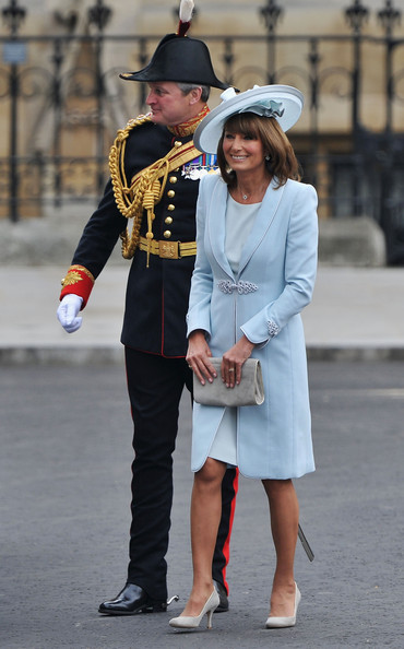 Carole Middleton Wears Catherine Walker to the Royal Wedding ...