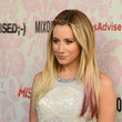 Ashley Tisdale's Ombre-Tipped Ends