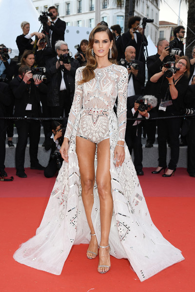 Izabel Goulart In Zuhair Murad Couture At The Cannes Film Festival