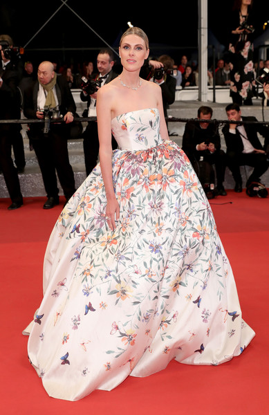 Sofie Valkiers' Full Floral Dress