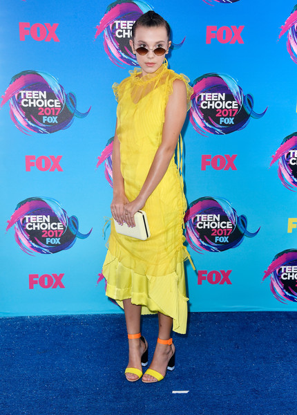 Millie Bobby Brown At The 2017 Teen Choice Awards