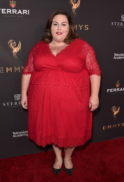 Pops of Red at the Television Academy's Performers Peer Group Celebration