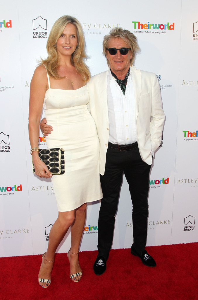penny lancaster and rod stewart celebrity couples with