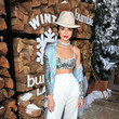 She Rocked Sequins And Wide-Leg Pants At The Winter Bumbleland Event