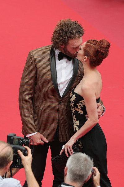Kate Gorney And T.J. Miller A The 2017 Cannes Film Festival