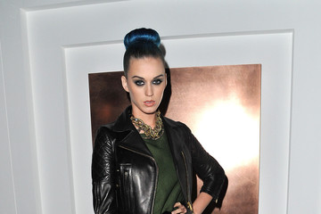 Katy Perry Sizzles in Leather