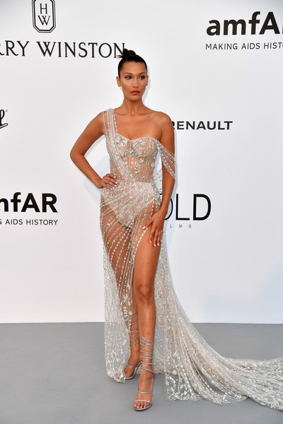 Bella Hadid in Ralph & Russo at the afAR Gala