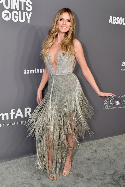 Heidi Klum At The 2019 amfAR New York Gala