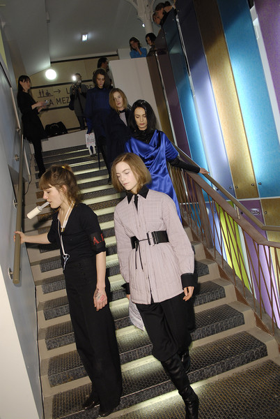 A.F. Vandevorst at Paris Fall 2008 (Backstage)