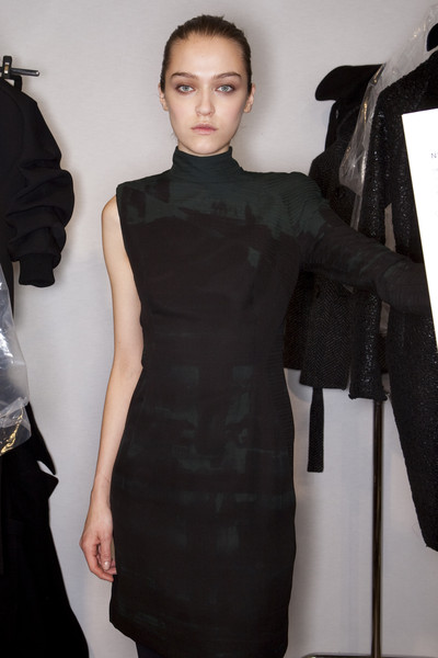 Akris at Paris Fall 2009 (Backstage)
