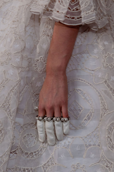 Alexander McQueen at Paris Fall 2013 (Details)