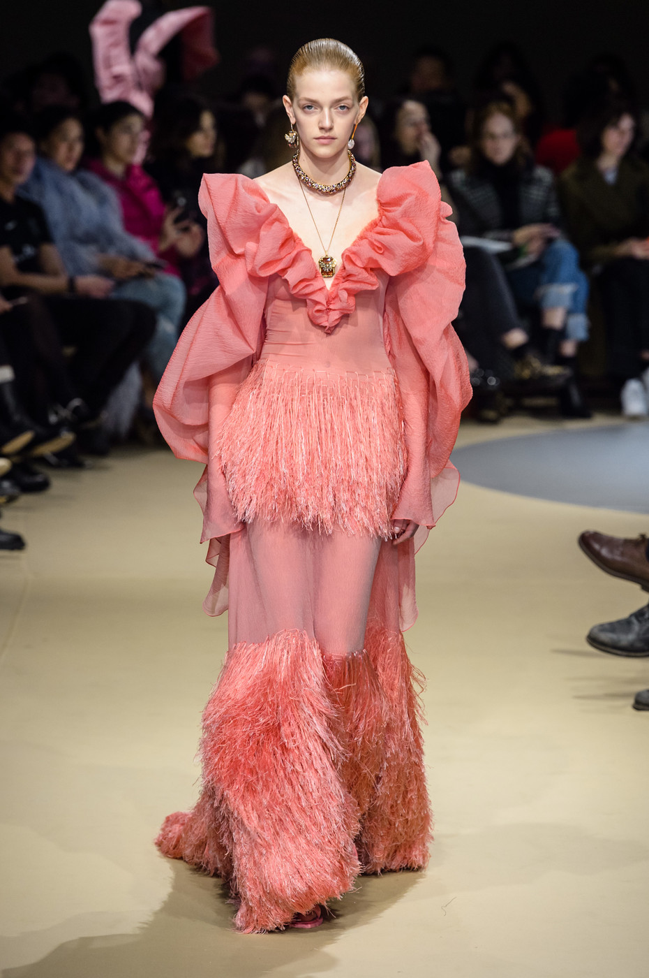 Alexander McQueen's Fall 2018 Show In Paris Was A Force Of Fashion Nature