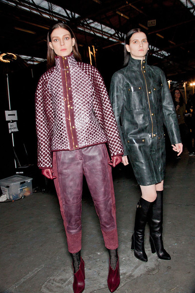 Alexander Wang at New York Fall 2012 (Backstage)